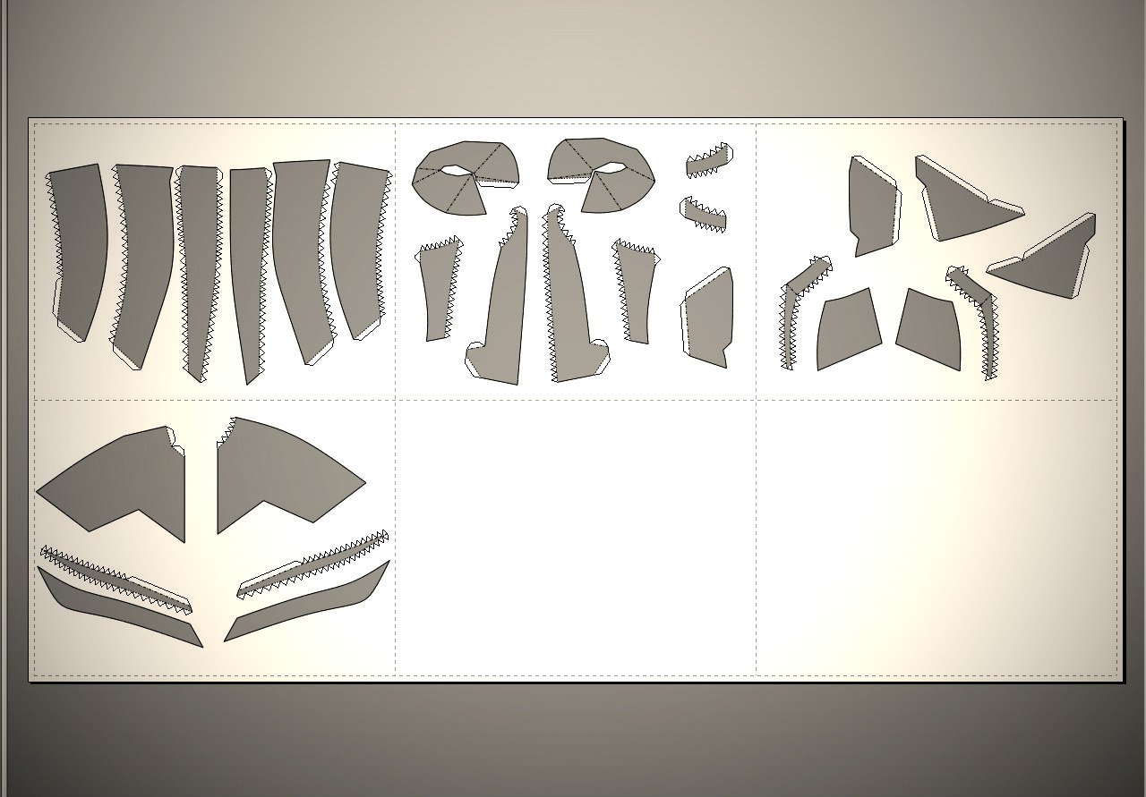 Как склеить бумажную модель с нуля Pepakura
